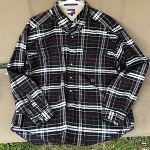 VINTAGE Tommy Hilfiger long sleeve button down